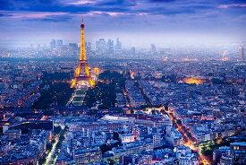 パリの景観 ポスターView Over Paris フランス