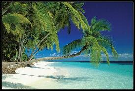 モルディブ ビーチ ポスターフレームセット Maldives Beach 200730