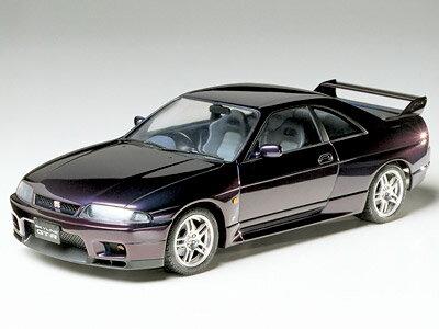 プラモデル TAMIYA タミヤ1/24 スポーツカー No.145 1/24 ニッサン スカイライン GT-R Vスペック (R33) 24145