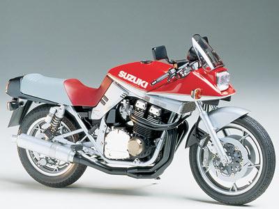 プラモデル TAMIYA タミヤ1/12 オートバイ No.65 1/12 スズキ GSX1100S カタナ カスタムチューン 14065