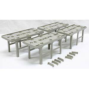 鉄道模型 Nゲージ TOMIX トミックス(3041) 複線高架橋脚(4個入)(N0284)
