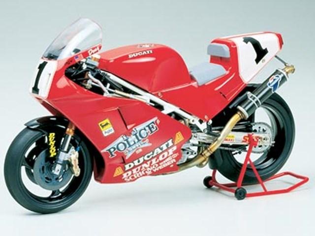 プラモデル TAMIYA タミヤ1/12 オートバイ No.63 1/12 ドゥカティ 888 スーパーバイクレーサー 14063