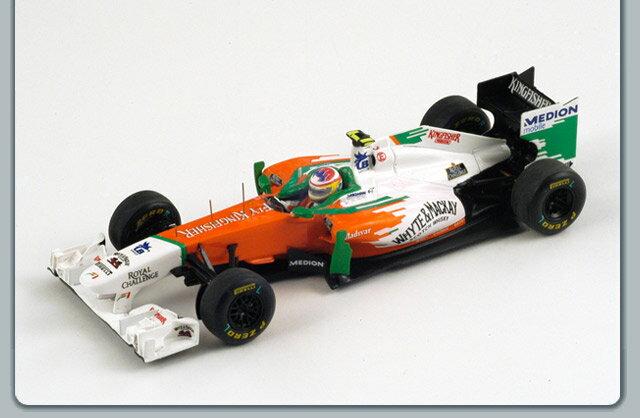 ミニカー 1/43 スパーク Spark フォース インディア VJM04 2011年 モナコGP #15 P. di Resta(S3025)