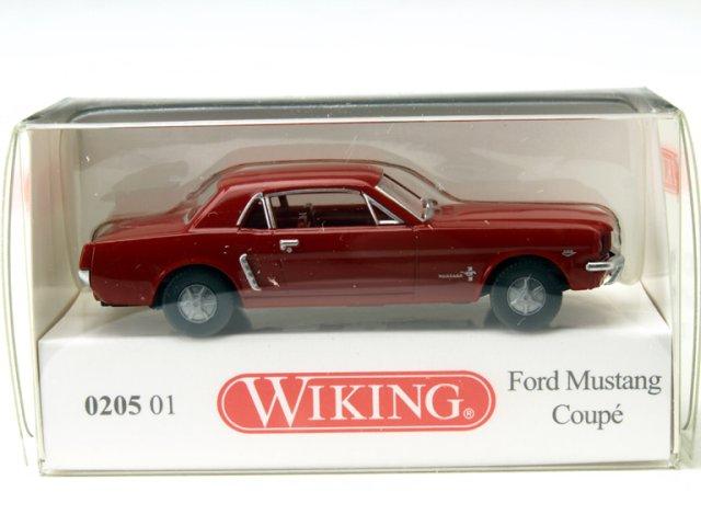 ミニカー 1/87 ヴィーキング WIKING フォード マスタング クーペ レッド(020501)