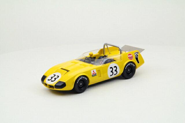 ミニカー 1/43 エブロ EBBRO RQ コニリオ 1969年 日本グランプリ #33 イエロー レジン製 (44272)