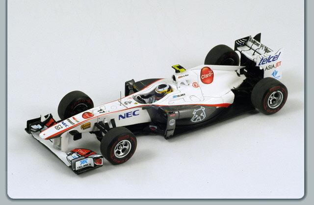 ミニカー 1/43 スパーク Spark ザウバー C30 2011年 F1 カナダGP #17 P.Rosa(S3026)