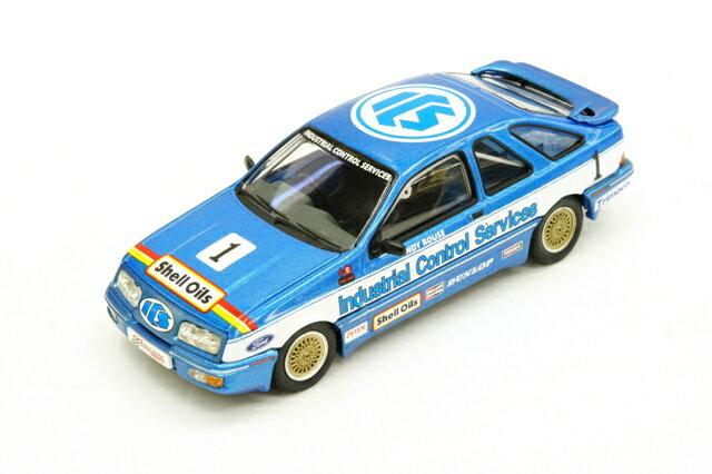 ヴァンガーズ Vanguards フォード シエラ XR4ti 85 1985年 ブリティッシュツーリングカー選手権 #1 A. Rouse(VA12202)【ミニカー】