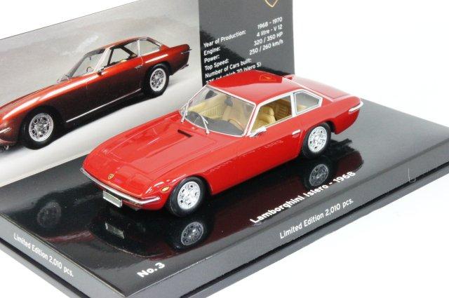ミニカー 1/43 ミニチャンプス MINICHAMPS ランボルギーニ イスレロ 1968年 レッド(436103420)