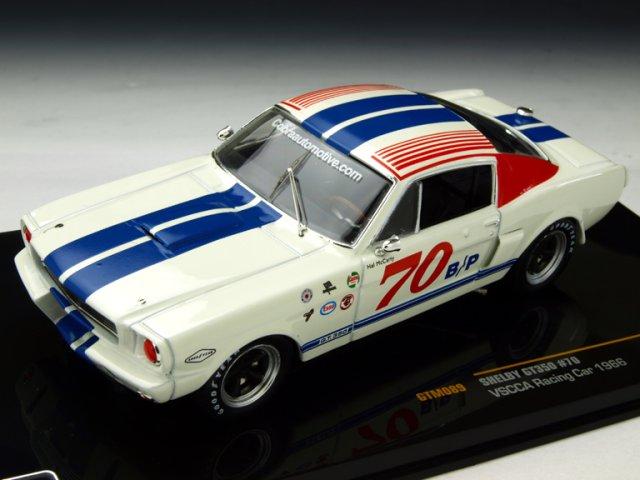 ミニカー 1/43 イクソ ixo シェルビー GT350 1966年 VSCCA #70(GTM089)