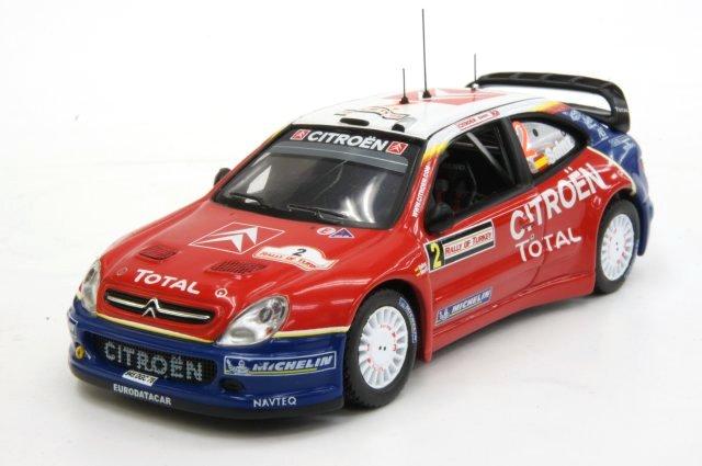 ミニカー 1/43 イクソ ixo シトロエン クサラ WRC 2005年 トルコラリー #2 C.Sainz/M.Marti(RAM197)