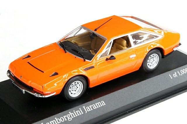 ミニカー 1/43 ミニチャンプス MINICHAMPS ランボルギーニ ハラマ 1974年 オレンジ(400103404)