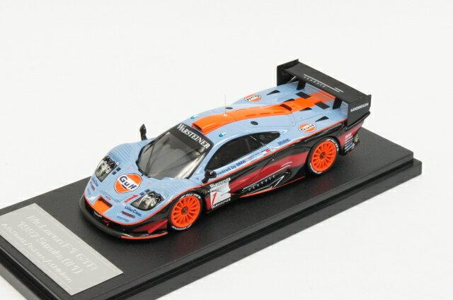 ミニカー 1/43 hpi・レーシング hpi・racingマクラーレン F1 GTR 1997年 鈴鹿 Gulf #1 G.Lees/A.Gilbert Scot/J.Nielsen(8211)