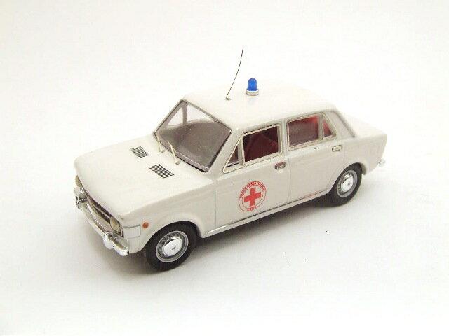 ミニカー 1/43 リオ RIO フィアット 128 「赤十字」 1970年 ホワイト(4187)