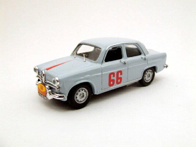 ミニカー 1/43 リオ RIO アルファロメオ ジュリエッタ 1957年 ツール・ド・フランス #66(4201)