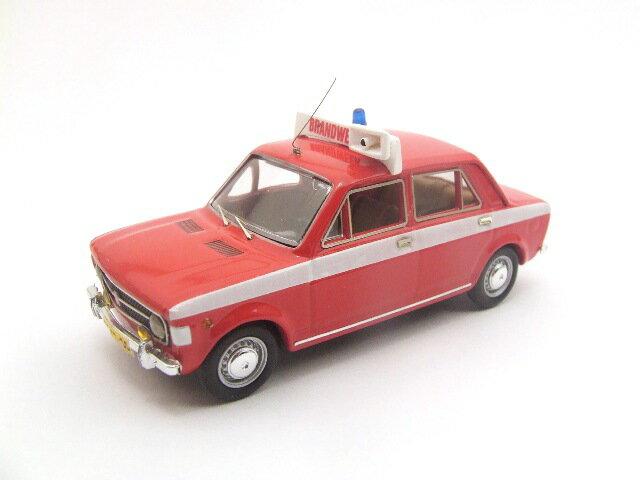 ミニカー 1/43 リオ RIO フィアット 128 4ドア 1970年 オランダ消防署 レッド(4203)
