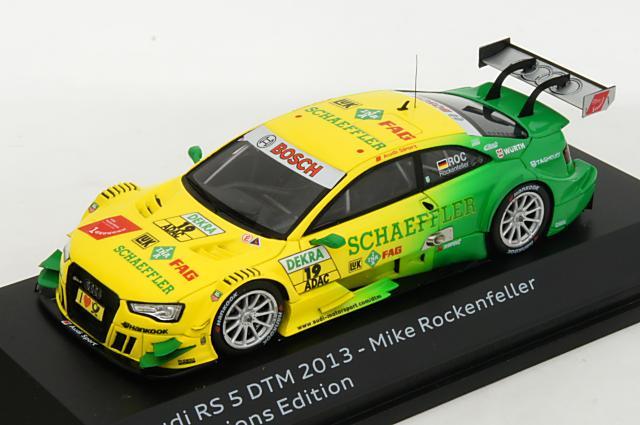 ミニカー 1/43 アウディ特注/スパーク Audi/Spark アウディ RS5 DTM 2013年 DTM チャンピオン仕様 #19 Mike Rockenfeller(5021300103)