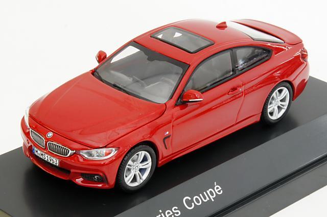 ミニカー 1/43 BMW特注/パラゴン BMW/PARAGON(80422318860) BMW 4シリーズ クーペ(F32) 2014年 メルボルンレッド