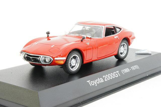ミニカー 1/43 京商 KYOSHO(KS03039R) トヨタ 2000GT 後期型 1969年-1970年 レッド