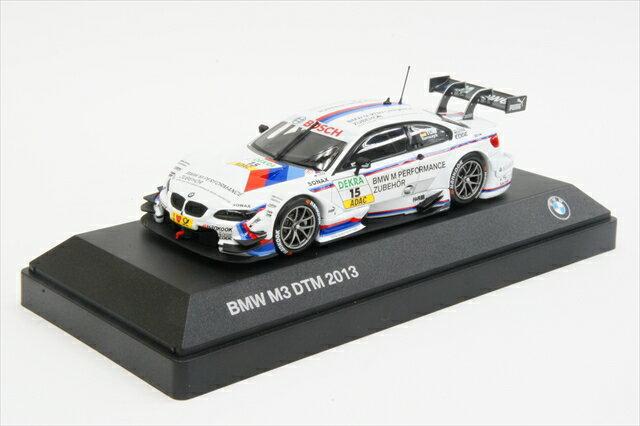 """ミニカー 1/43 BMW特注/ミニチャンプス BMW/MINICHAMPS(80422351055) BMW M3 DTM(E92) """"BMWチームRMG"""" 2013年 DTM #15 M.Tomczyk"""