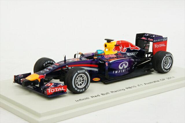 ミニカー 1/43 スパーク Spark(S3085) インフィニティ レッドブルレーシング ルノー RB10 2014年 オーストラリアGP #1 S.Vettel