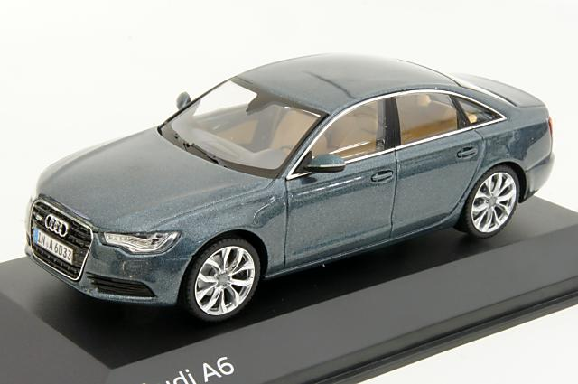 ミニカー 1/43 アウディ特注/シュコー Audi/Schuco(5011006123) アウディ A6 2011年 アビエイターブルー