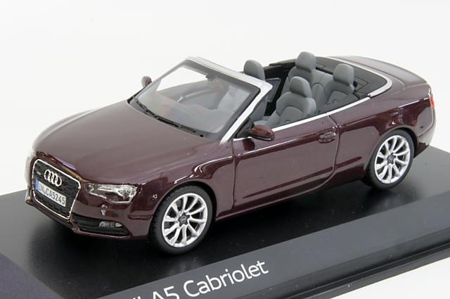 ミニカー 1/43 アウディ特注/ノレブ Audi/NOREV(5011105323) アウディ A5 カブリオレ 2011年 シラーレッド