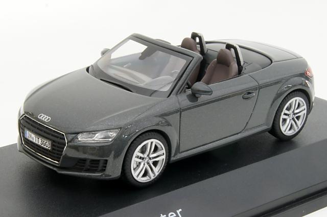 ミニカー 1/43 アウディ特注/京商 Audi/KYOSHO(5011400533) アウディ TT ロードスター 2014年 グレー