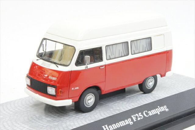 ミニカー 1/43 プレミアムクラシックス Premium ClassiXXs(PCS13475) ハノマグ F25 キャンピングカー レッド/ホワイト