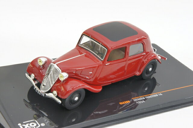 ミニカー 1/43 イクソ ixo(CLC265) シトロエン トラクシオン 7A 1934年 ボルドー