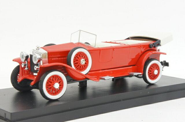 リオ RIO (4422) フィアット 519S トーピード 1923年 オープン ダークレッド【ミニカー】【1/43】【フィアット】