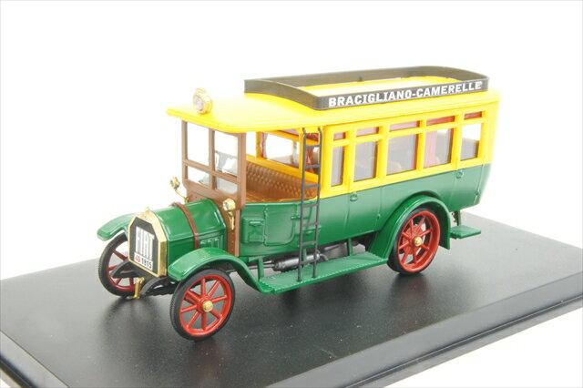 """リオ RIO (4433) フィアット 18BL オートバス """"Bracigiano/Camarelle"""" 1916年【ミニカー】【1/43】【フィアット】"""
