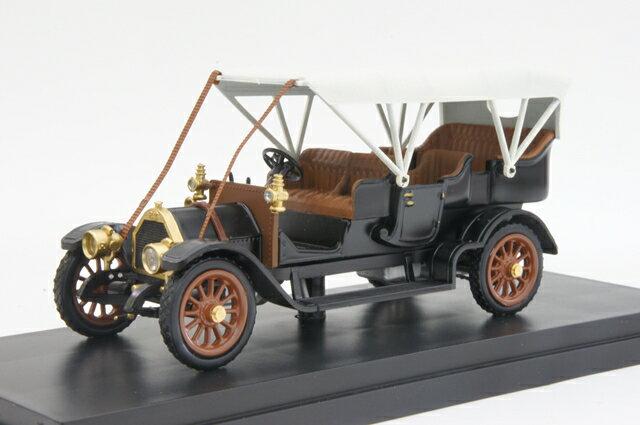 リオ RIO (4437) フィアット 60CV 1905年 ブラック【ミニカー】【1/43】【フィアット】