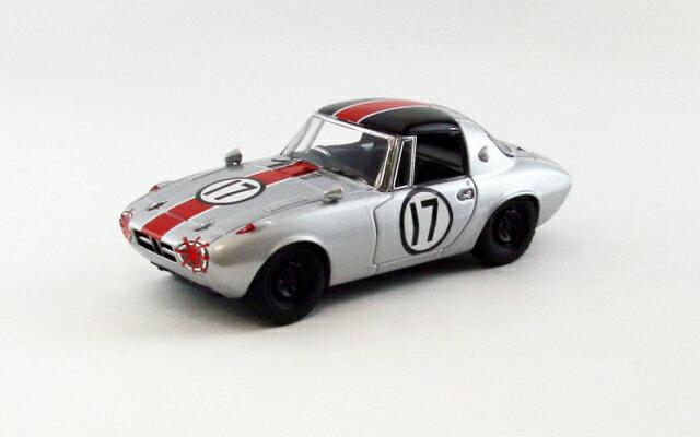 ミニカー 1/43 エブロ EBBRO(44787) トヨタ スポーツ 800 1965年 船橋CCC No.17 細谷 四方洋