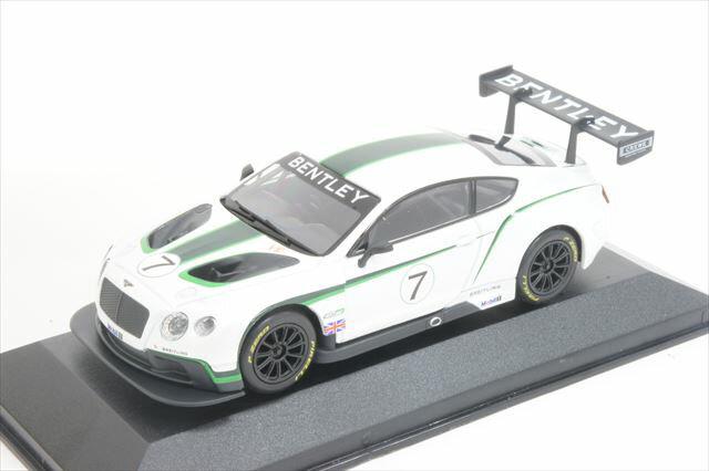"""ミニカー 1/43 コーギー CORGI(CC56901) ベントレー コンチネンタル GT3 """"ランチカー"""" No.7 ホワイト/グリーン"""