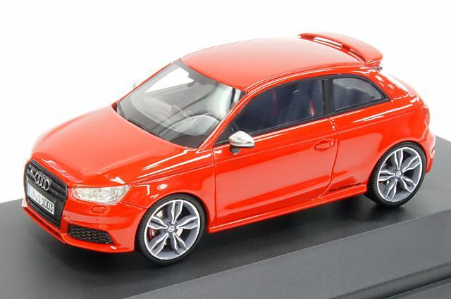ミニカー 1/43 アウディ特注/プレミアムクラシックス Audi/Premium ClassiXXs(5011411013) アウディ S1 2014年 ミサノレッド レジン製