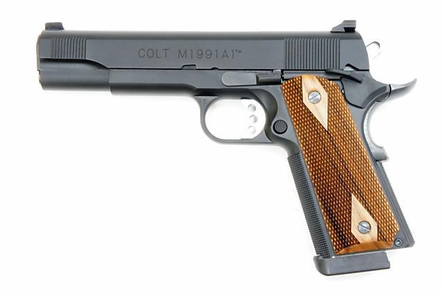 B.W.C. ウィルソン コンバット M1991-A1 シリーズ80 ダブルキャップ45CPカートリッジ仕様 ヘビーウエイト 発火モデルガン()