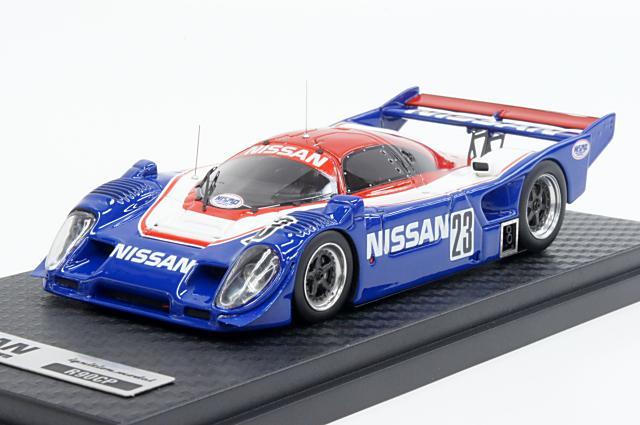 ミニカー 1/43 イグニッションモデル ignition model(IG0287) ニッサン R90CP 1990年 シェイクダウンテスト No.23 星野 一義/鈴木 利男