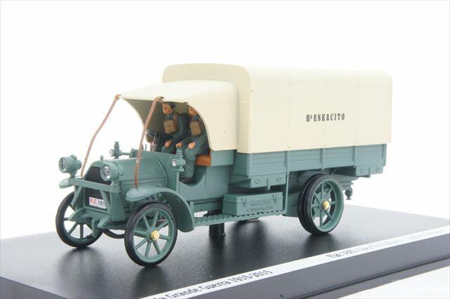 リオ RIO (1915-1-D) 第一次世界大戦 100周年 フィアット18 BL 軍用トラック フィギュア4体セット【ミニカー】【1/43】【フィアット】
