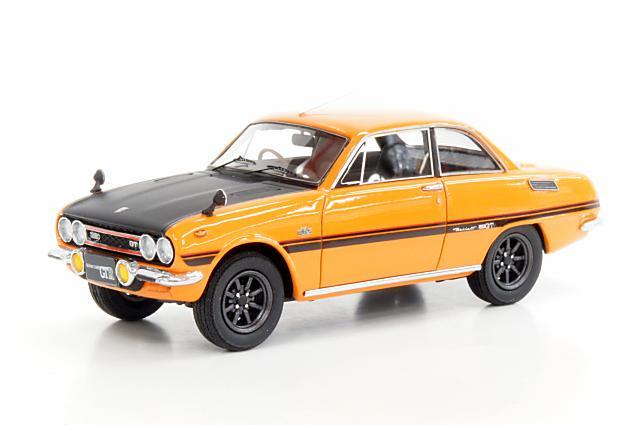 ミニカー 1/43 マーク43 MARK43(PM4314SP) いすゞ ベレット GT タイプR (PR91W) スポーツホイール メープルオレンジ