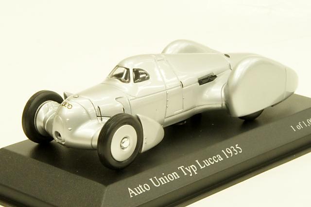 ミニカー 1/43 ミニチャンプス MINICHAMPS(410352000) アウトウニオン タイプ・ルッカ 1935年 シルバー