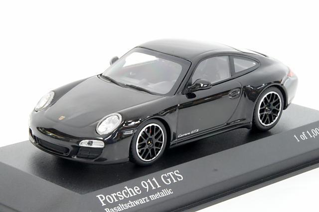 ミニカー 1/43 ミニチャンプス MINICHAMPS(410060121) ポルシェ 911(997 II) カレラ4 GTS 2011年 ブラックメタリック
