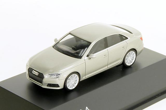 アウディ特注/ヘルパ・コレクション Audi/herpa Collection(5011504112) 1/87 アウディ A4 2015年 キュベシルバー