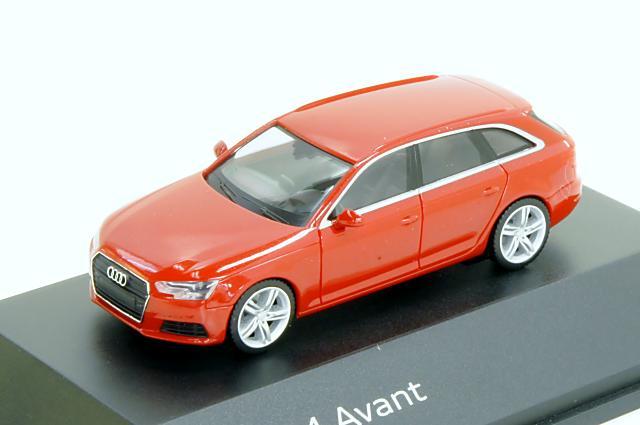 アウディ特注/ヘルパ・コレクション Audi/herpa Collection(5011504212) 1/87 アウディ A4 アバント 2015年 タンゴレッド