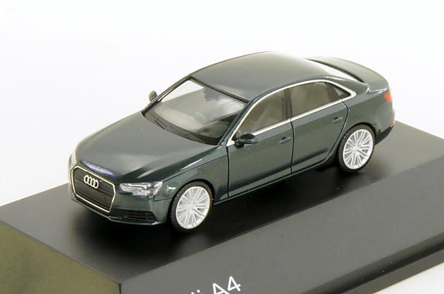 アウディ特注/ヘルパ・コレクション Audi/herpa Collection(5011504122) 1/87 アウディ A4 2015年 ゴットランドグリーン
