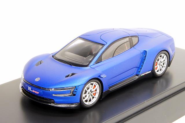 ミニカー 1/43 フォルクスワーゲン特注/スパーク Volkswagen/Spark(6Z3099300A) フォルクスワーゲン XL スポーツ 2014年 ブルー
