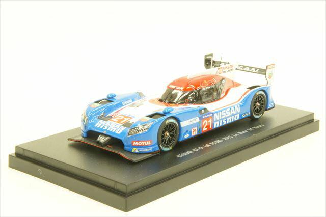 ミニカー 1/43 エブロ EBBRO(45254) ニッサン GT-R LM ニスモ 2015年 ル・マン24時間耐久レース No.21 松田 次生/L.Ordonez/M.Shulzhitskiy