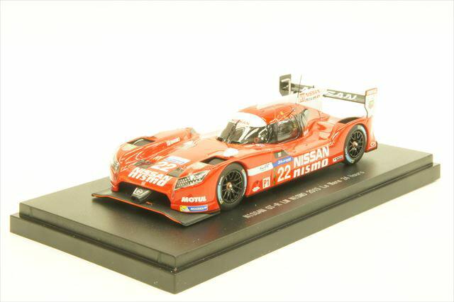 ミニカー 1/43 エブロ EBBRO(45255) ニッサン GT-R LM ニスモ 2015年 ル・マン24時間耐久レース No.22 H.Tincknell/A.Buncombe/M.Krumm
