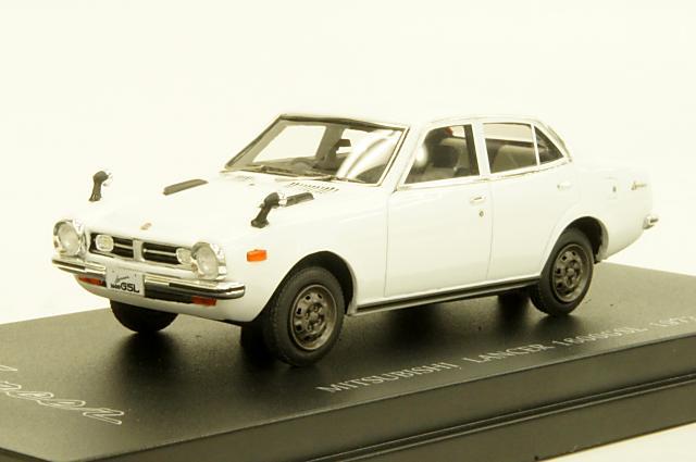 ミニカー 1/43 カム CAM(C43035) ミツビシ ランサー 1600 GSL(A73) 1973年 ホワイト