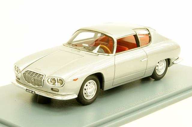 ミニカー 1/43 ネオ NEO(NEO45168) ランチア フラヴィア スポルト ザガート 1966年 シルバー