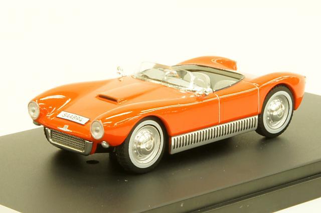 ミニカー 1/43 プレミアムX PREMIUM X(PRD448) サーブ 94 ソネット 1956年 レッド